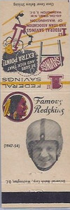 1958 First Federal Matchbooks Joe Tereshinski