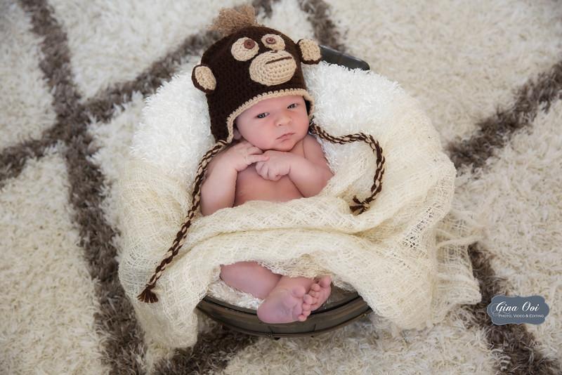A precious 8-day-old newborn.