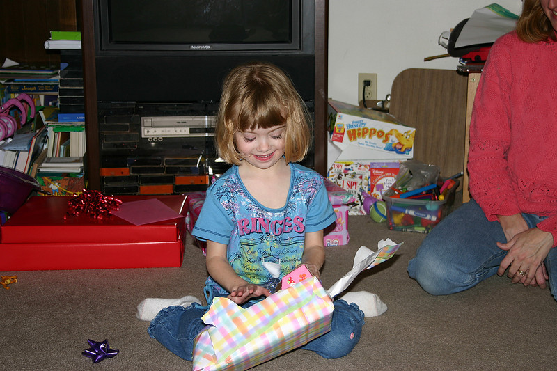 Sarah's 4th Birthday