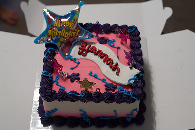 Hannah's 11th Birthday