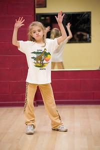 Sarah's Hip-Hop Practice