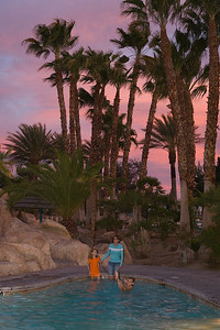 The Family at the Oasis Las Vegas RV Resort
