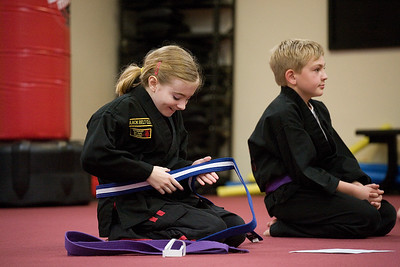 Karate Test - March 2, 2012