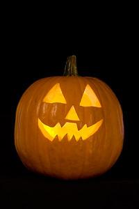 Sarah's pumpkin.