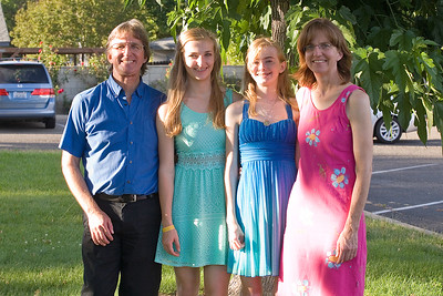 Sarah's 8th Grade Graduation at Merced Christian School.
