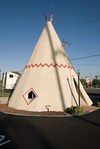 Wigwam Motel in San Bernardino (Rialto), CA
