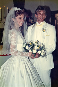 Mike and Stacy Wedding Day - May 18, 1991