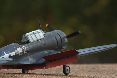 1/48 scale Douglas SBD Dauntless