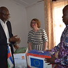 NRC Country Director CAR donates HLP database and materials to Minister of Planning
