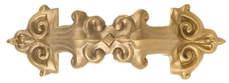 "Queen Anne style cast downspout bracket in aluminum or bronze.<br /> Prices do not include delivery or installation.<br /> Made in America<br /> FMBQA3 	3"" brass - Queen Anne 	7½"" x 3⅝"" 	1½ lbs 	$29.00<br /> FMBQA4 	4"" brass - Queen Anne 	9⅛"" x 4½"" 	2 lbs 	$37.00<br />  <br /> FMAQA3 	3"" aluminum - Queen Anne 	7½"" x 3⅝"" 	½ lb 	$16.50<br /> FMAQA4 	4"" aluminum - Queen Anne 	9⅛"" x 4½"" 	¾ lb 	$19.00 Prices do not include shipping or installation ( if applicable )"