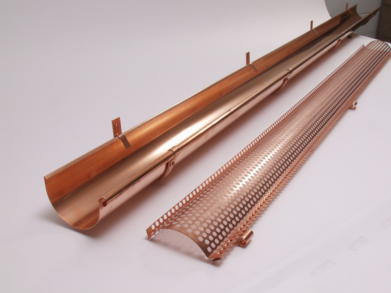 "Heavy duty copper leaf screen  <a href=""http://www.abraingutters.com"">http://www.abraingutters.com</a>"