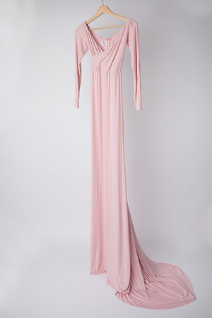 Maternity Grace Gown - Ballet Pink (Suggested Size: 4-14)