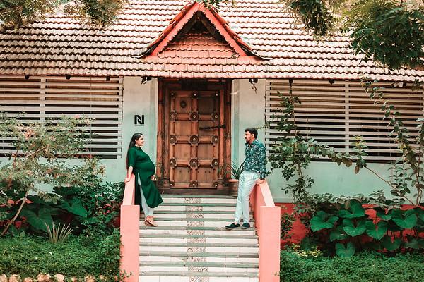 Maternity couple photoshoot in Bangalore