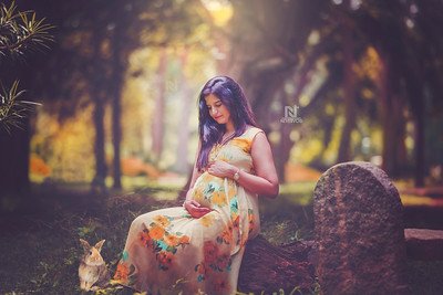 Get a professional photoshoot for your pregnancy phase of life.
