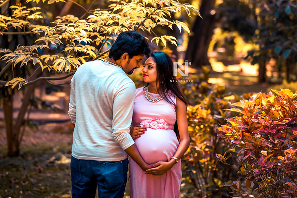 Couple during their Maternity photoshoot