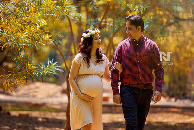 Maternity portraits for a gorgeous husband and wife