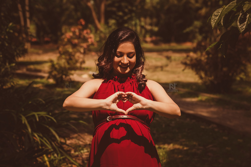 Heart you forever - Maternity photography