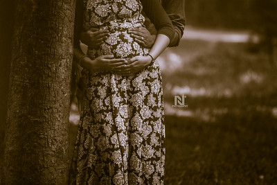Maternity photography session in Bangalore
