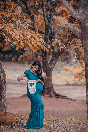 Maternity portraits for the new mother to be