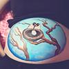 Lara_Belly_Painting_093 CE peace + hazy haze