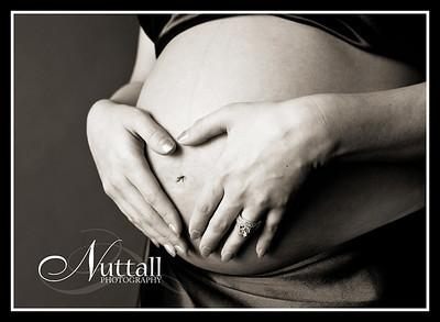 Angie Maternity 094bw