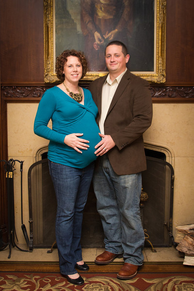 Ashley and Steven Maternity
