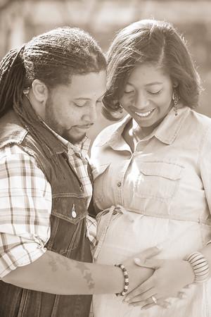 Ben and Andrenetta Dennis - Maternity
