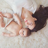 Beautiful natural light newborn session