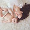 Beautiful natural light newborn session