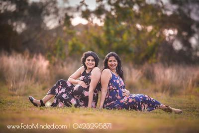 Gayathri x 2 Maternity Shoot