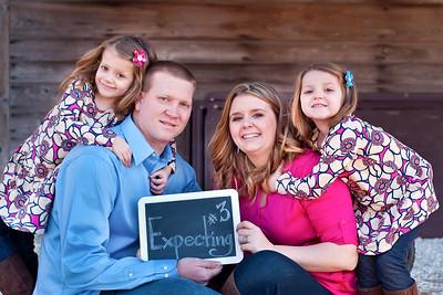 Kriger Family Announcement Portraits