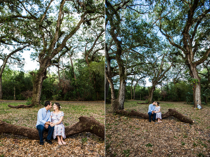 Tree Tops Park Maternity Session