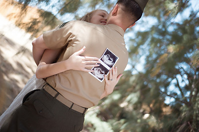 Rochelle Pregnancy Announcement - Twentynine palms, CA |Oh! MG Photography, CA