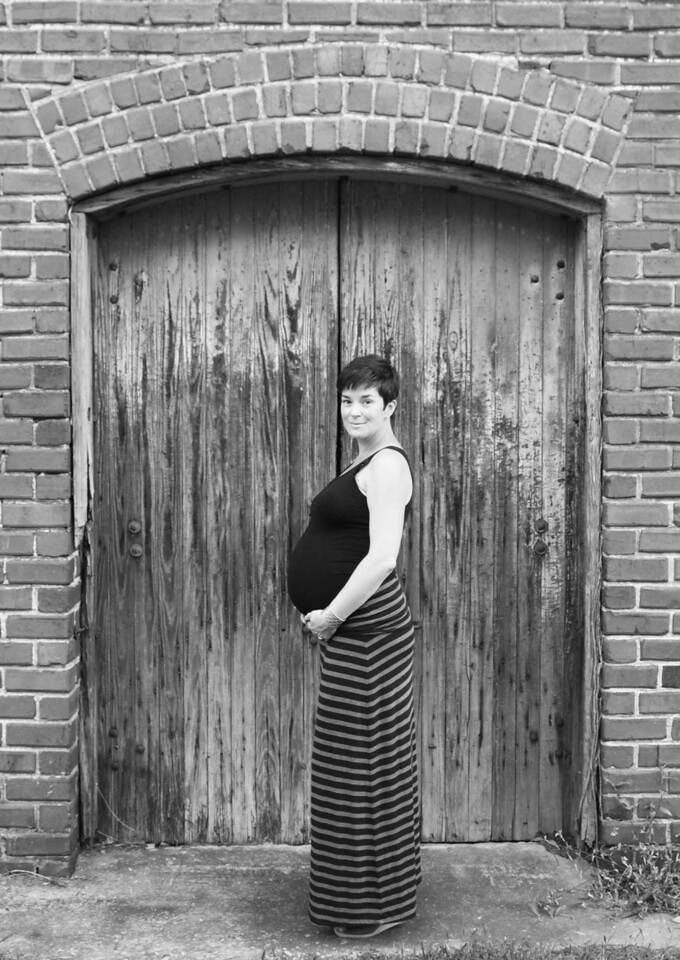 Susan at Jail Works B&W