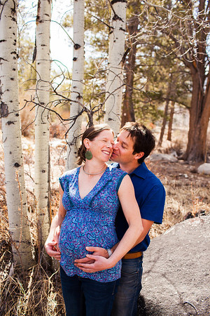 Trish and Dan Maternity