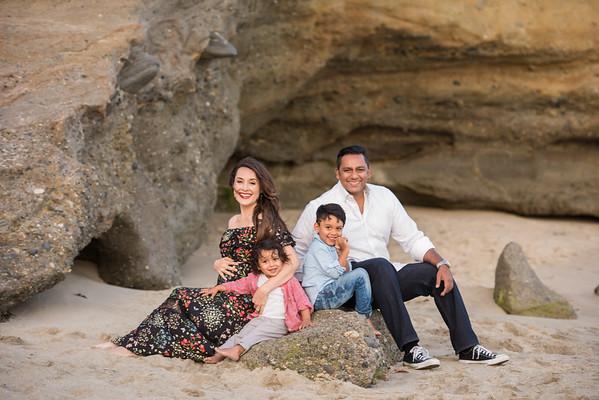 Vivian, Adrian, Liam & Sky Family
