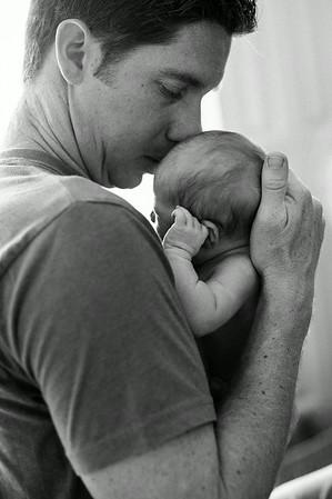 West Family Newborn 062014 BW