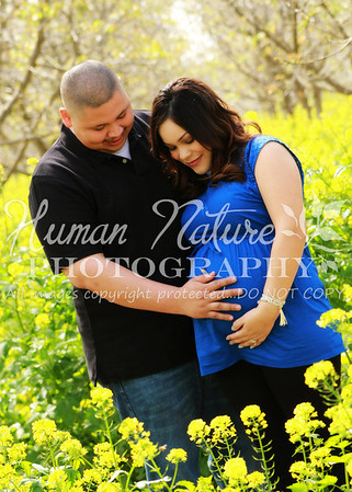 Yesenia and Andrew Maternity