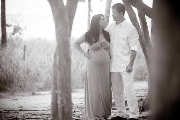 Zarine and Tim Maternity