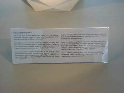 Info sheet, Schwarz' boot