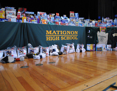 2008-11-25  Matignon High School Local Heroes Assembly