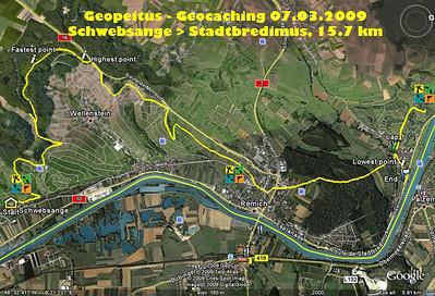 Geopeitus Schwebsange > Stadtbredimus 07.03.09