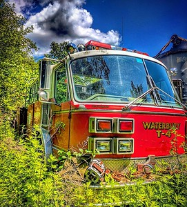 Apparatus Shoot - Old Waterbury Truck Company 4, Waterbury, CT - 6/28/17