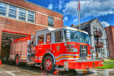 Apparatus Shoot - HFD Engine 10, Hatford, CT - 7/16/17