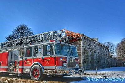 Apparatus Shoot - Ex Canton Ladder, Kesington, CT - 2/2/17