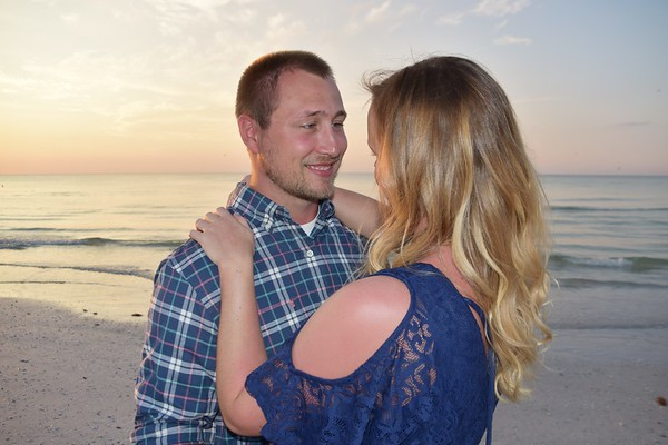 Beautiful photo session at Siesta Key Beach, FL