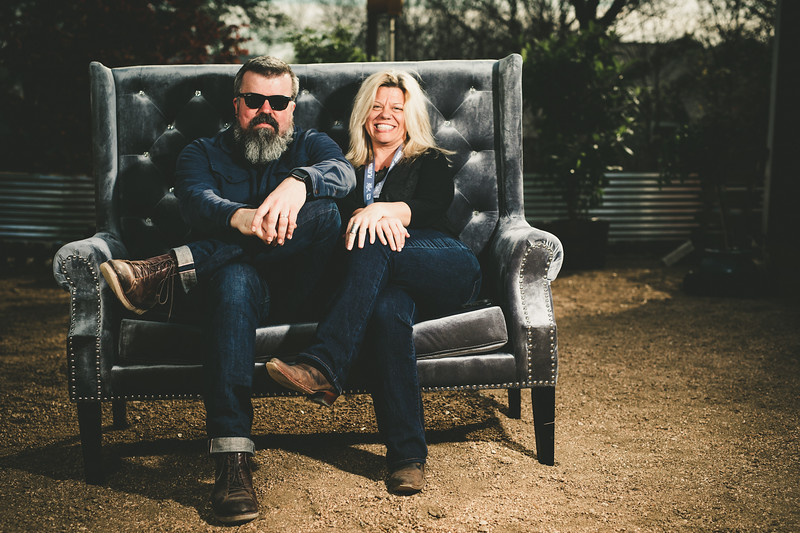 Matt Wallis and Michelle Randolph-Faires
