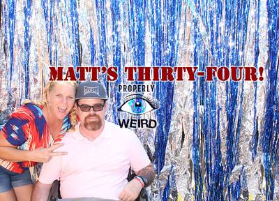 #Matts34th