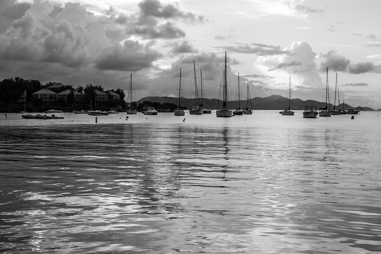 Cruz Bay Evening