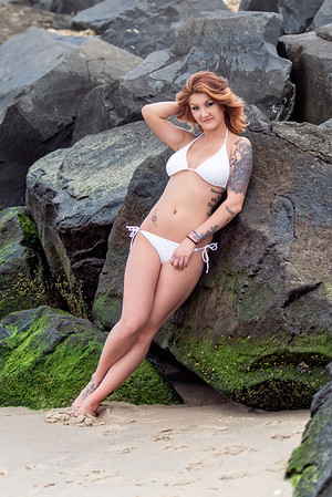 Model Kelsey- Bikini photo shoot